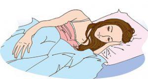 添い寝をしたい