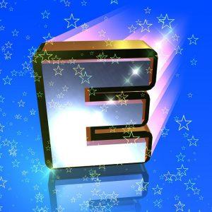 E, アルファベット